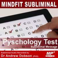 Psychological Test Subliminal MP3
