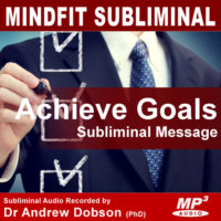 Achieve Goals Subliminal MP3