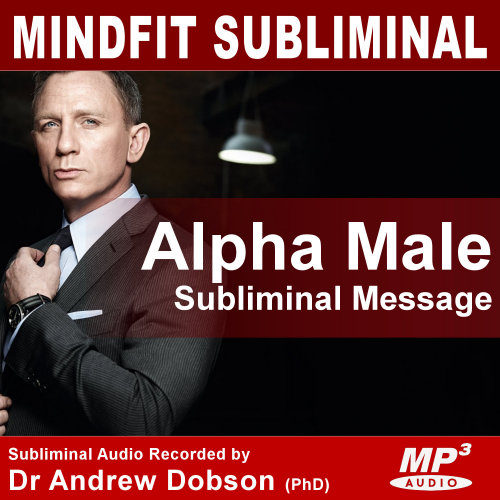 Mindfit Hypnosis Alpha Male Subliminal MP3 CD