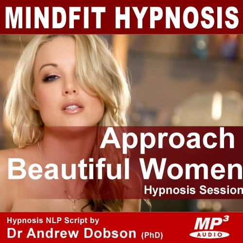 confidence approach women hypnosis mp3/cd