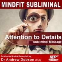 Attention to Detail Subliminal MP3