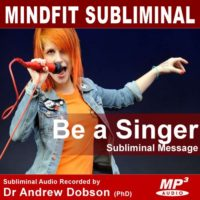 Be a Singer Subliminal MP3