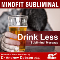 Drink Less Alcohol Subliminal MP3
