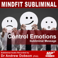 Control Emotions Subliminal MP3