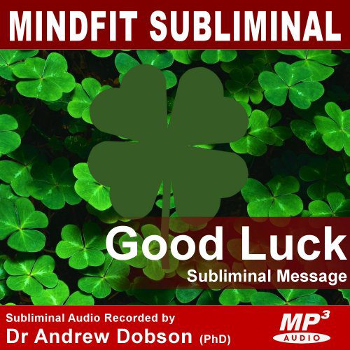 good luck subliminal message mp3