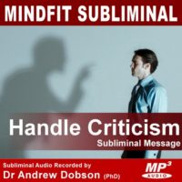 Handle Criticism Subliminal MP3