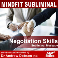 Better Negotiation Subliminal MP3
