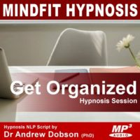 get organized hypnosis mp3 cd