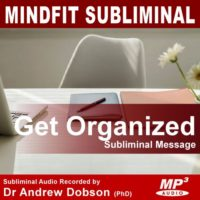 Get Organized Subliminal MP3