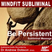 Be Persistent Subliminal MP3