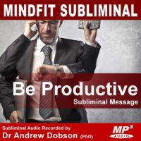 Be Productive Subliminal MP3