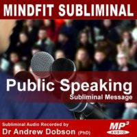 Public Speaking Subliminal MP3