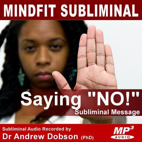 Say NO Subliminal MP3 Download
