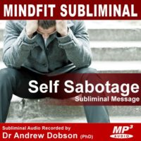 Stop Self Sabotage Subliminal MP3