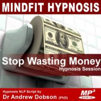 Stop Wasting Money Hypnosis MP3