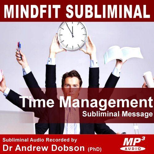 Time Management Subliminal MP3 Download